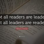 Leaders are readers: Rebuilding the reading habit
